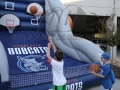 Charlotte Bobcats Free Throw Challenge in Action