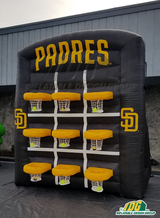 San Diego Padres Inflatable Tic Tac Toe