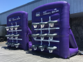 stockton kings custom inflatable tic tac toe
