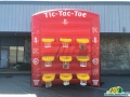 houston rockets custom inflatable tic tac toe