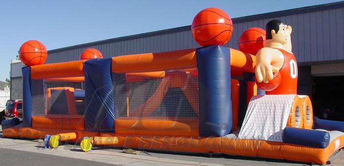Basketball Obstacle Course Large