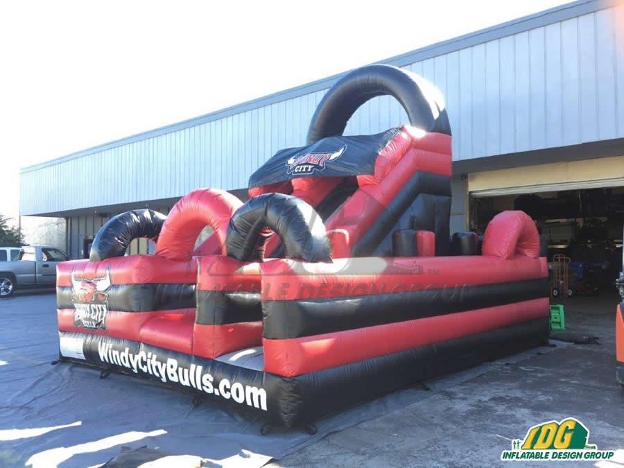 Windy City Bulls Basketball Obstacle Course