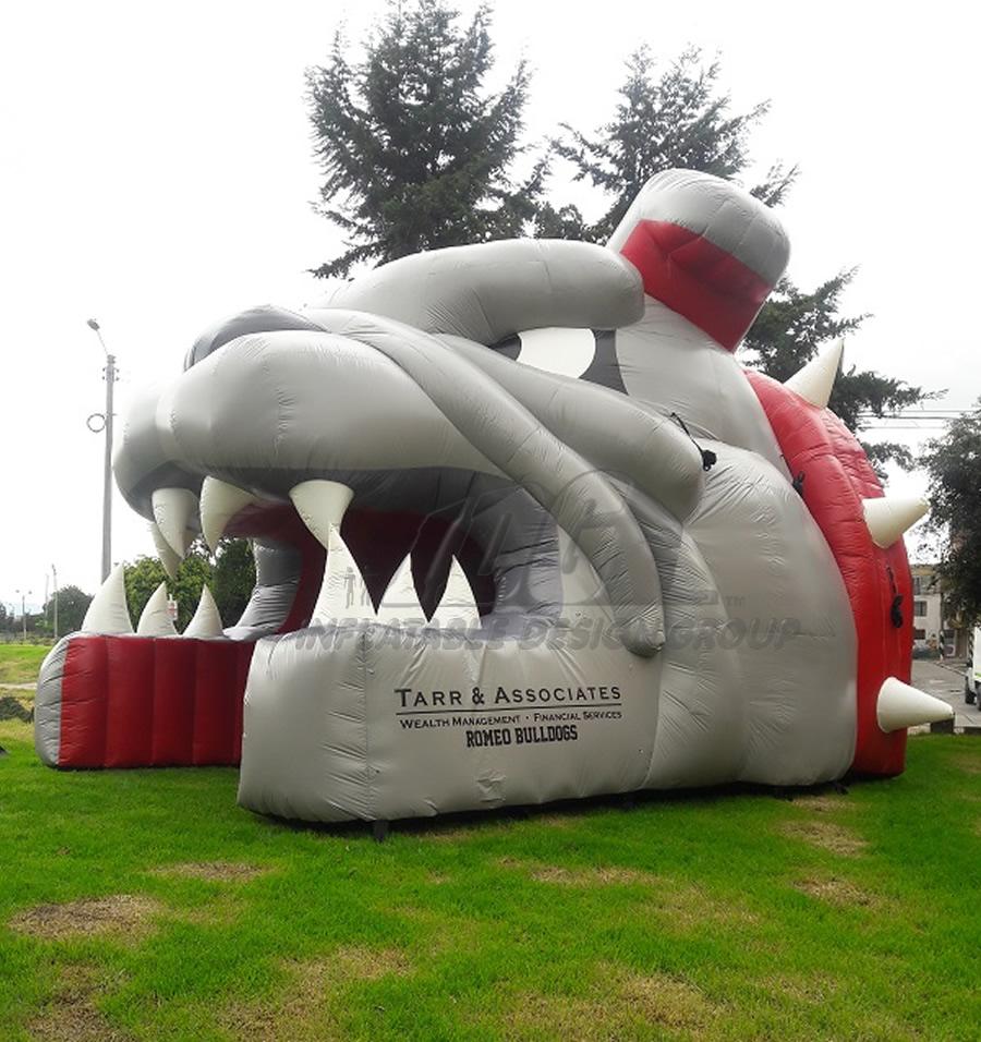 Inflatable Bulldog Entryway