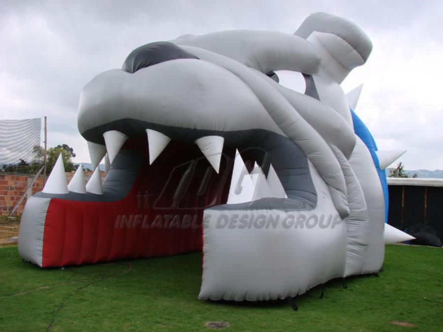 Inflatable Bulldog Head
