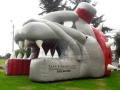 Inflatable Bulldog Entryway