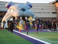 Inflatable Bulldog Football Runout