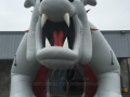 Inflatable Bullpup Entryway