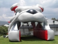 Inflatable Dog Tunnel Front View