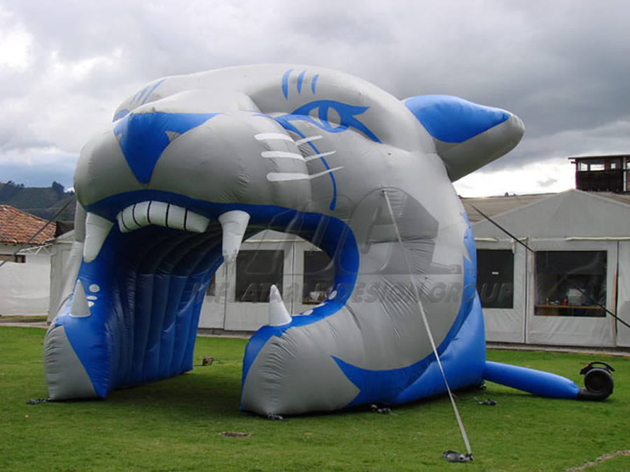 Inflatable Cougar Head