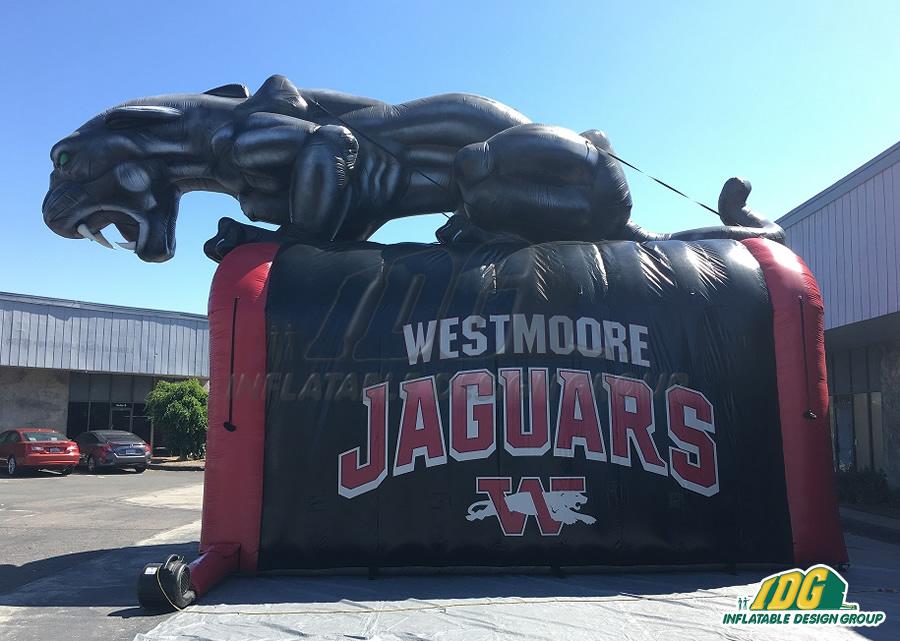 Inflatable Jaguar Tunnel