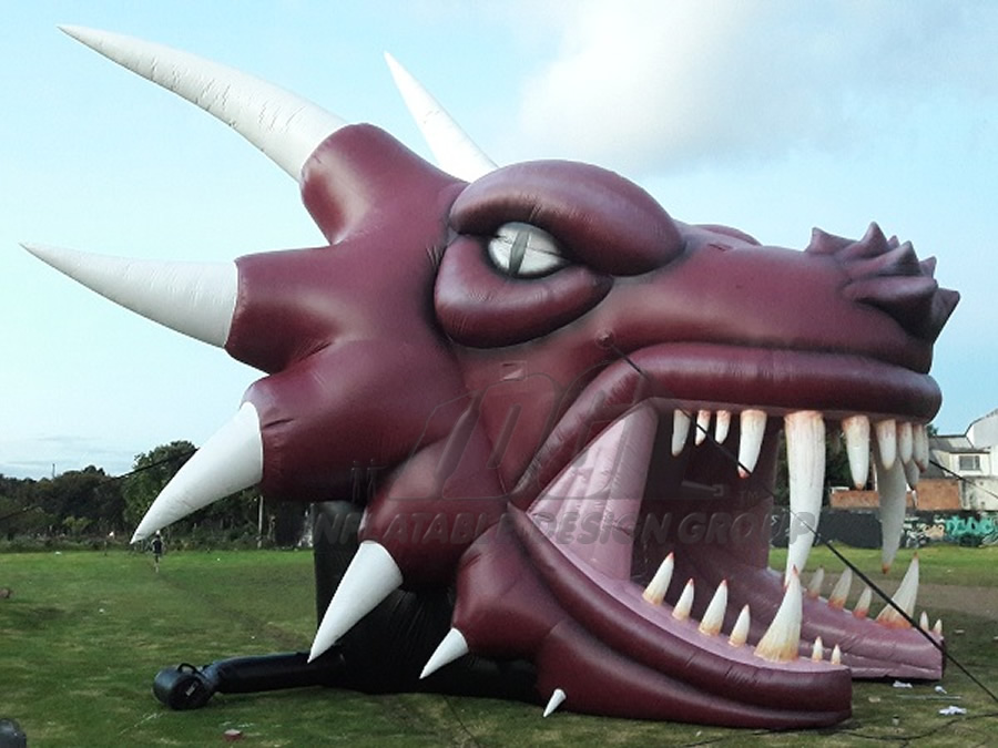 Inflatable Dragon Head