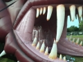 Inflatable Dragon Head Teeth