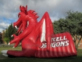 Inflatable Dragon Tunnel Side View