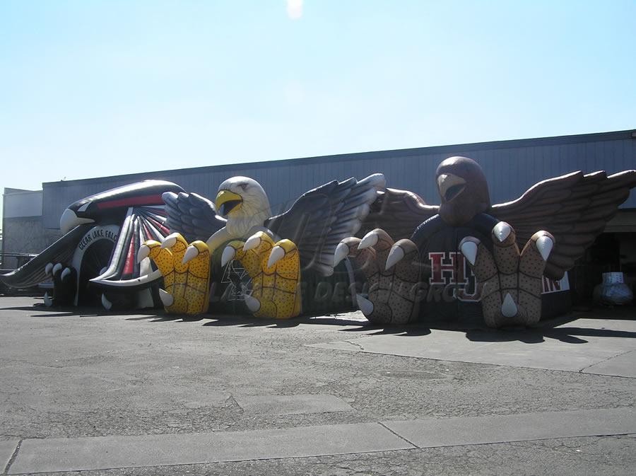 Inflatable Bird Lineup