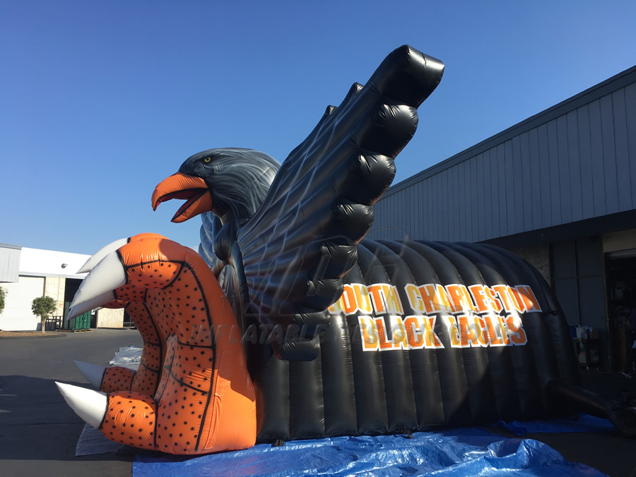 Inflatable Eagle Entrancway Side View