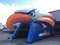Inflatable Eagle Head Entryway
