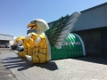 Inflatable Eagle Tunnel