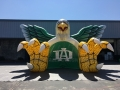Inflatable Green Eagle Entryway
