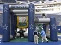 Dallas Cowboys Dual Kick and Toss