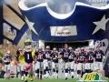 New England Patriots Entryway