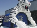 Inflatable Blythewood Bengals mascot Tunnel