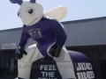 Inflatable Hornets Custom Standing Mascot Tunnel