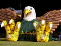 Inflatable Lexingtons Eagles Mascot Tunnel