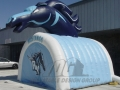 Inflatable Mustangs Mascot Tunnel