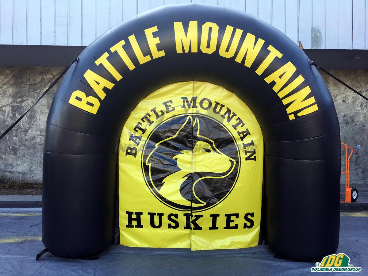 Battle Mountain HS Custom Inflatable Arch