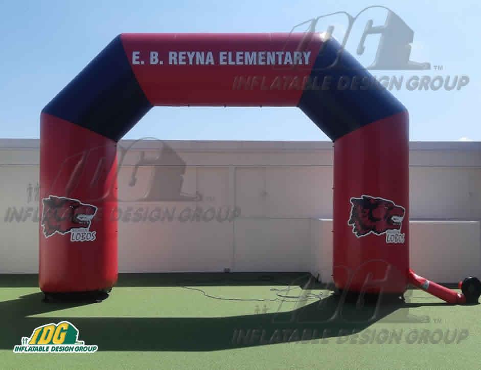 Inflatable-Angular-Archway-E.B.-Reyna-Elementary