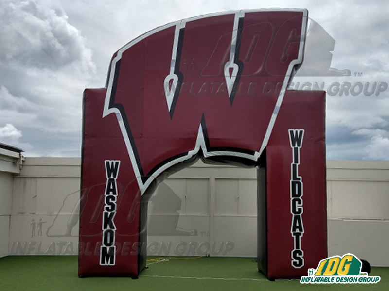 Inflatable-Arch-Big-Letter-High-School-Entryway