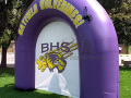 Bayfield High School Custom Inflatable Arch