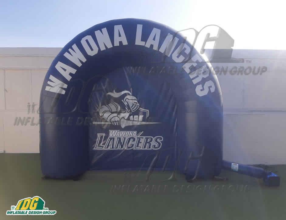 Wawona Lancers Inflatable Custom Arch
