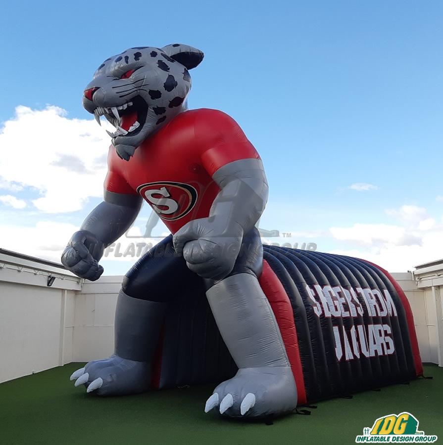Segerstorm Custom Inflatable Jaguars Entryway