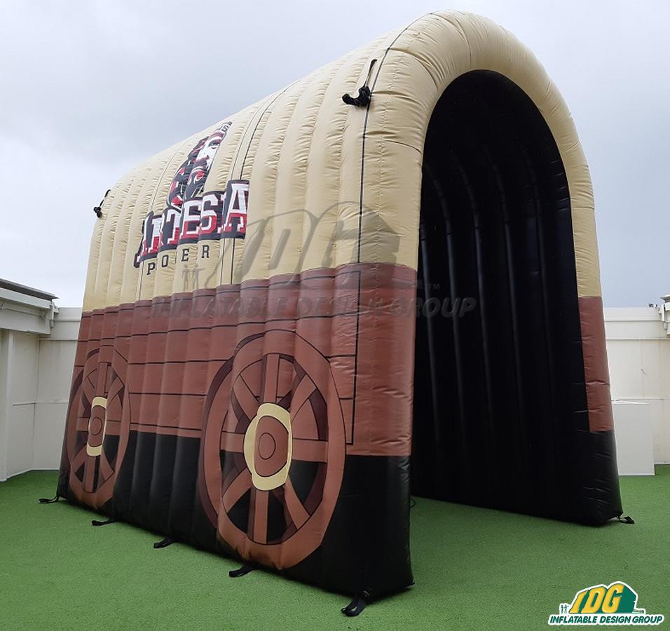 Artesia Custom Inflatable Wagon Entryway