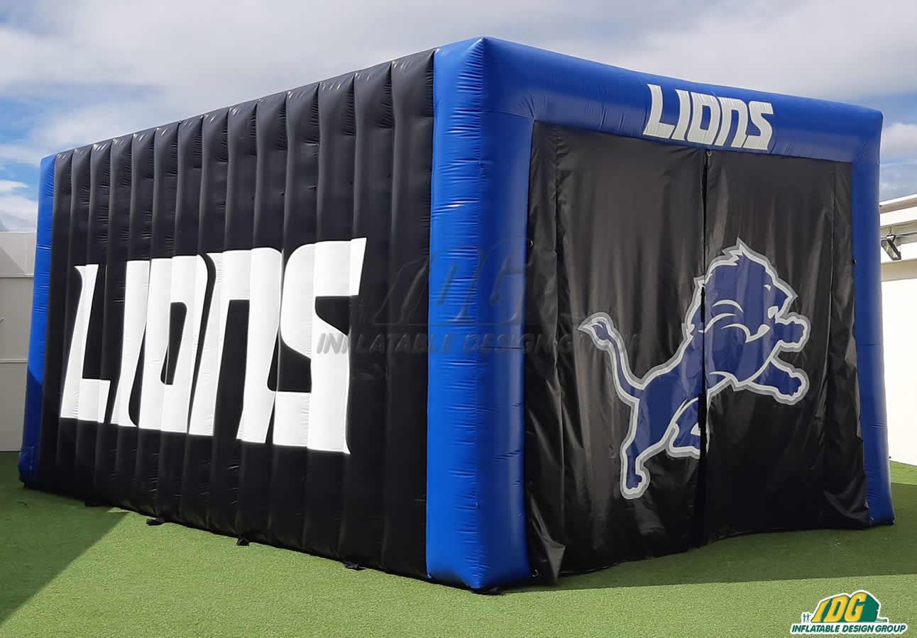 John Tyler Lions Custom Inflatable Tunnel