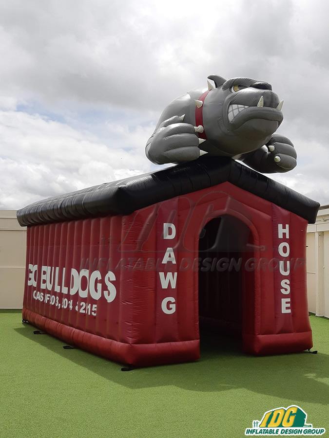 Pasadena Custom Inflatable Bulldogs Entryway