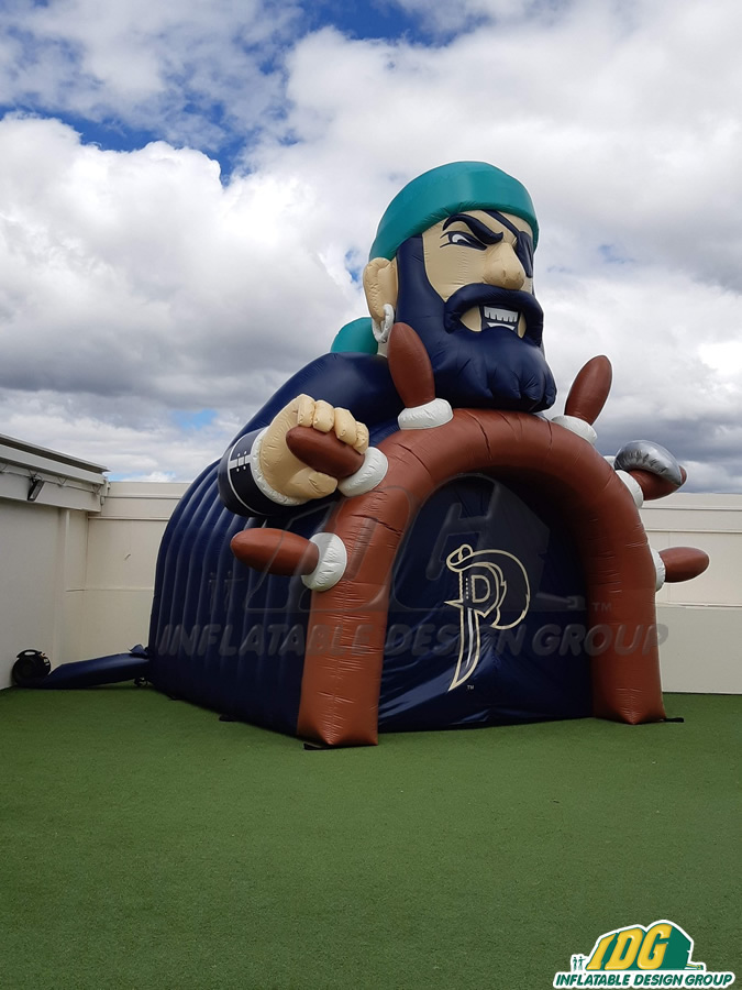 Mass Custom Inflatable Pirates Entryway