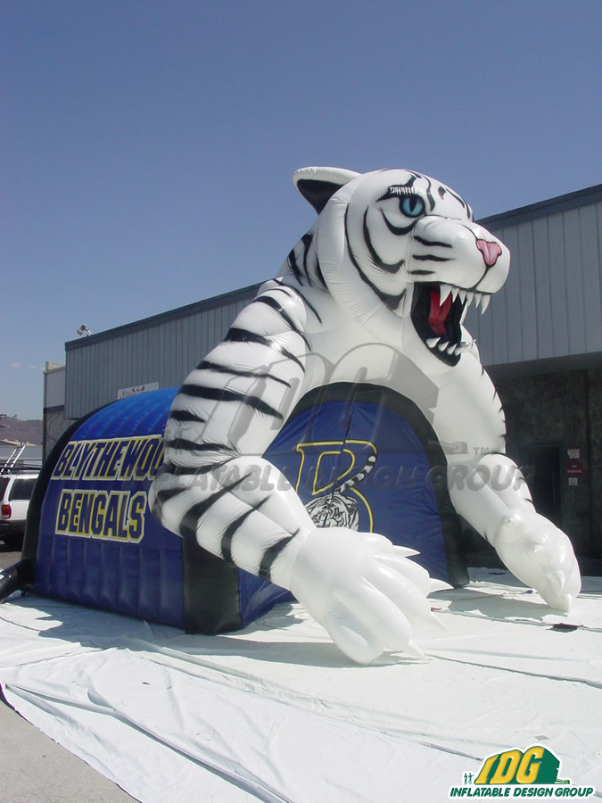 Blythewood Custom Inflatable Bengals Entryway
