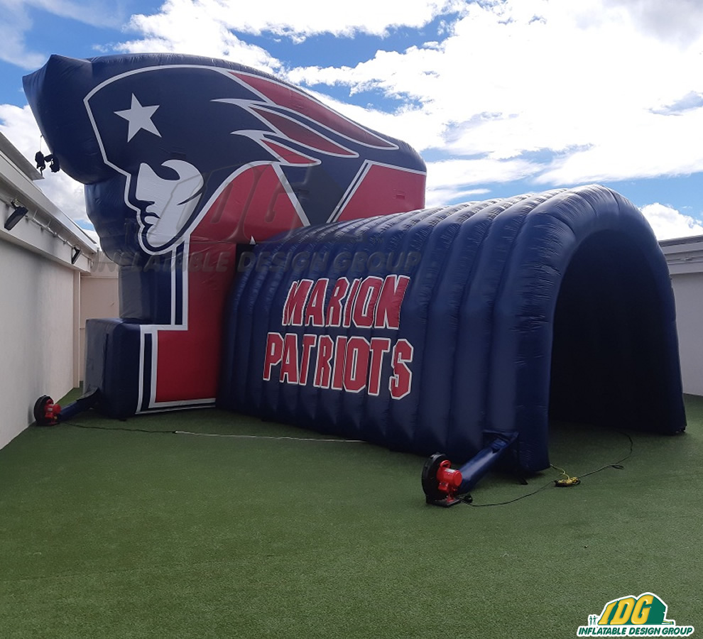 Marion Patriots Custom Inflatable Entryway