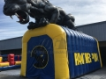Benicia Custom Inflatable Panthers Entryway