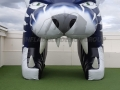 John Glenn Custom Inflatable Bobcats Entryway