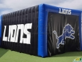 John Tyler Lions Custom Inflatable Tunnel