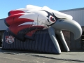 Wakulla Custom Inflatable War Eagles Entryway