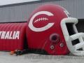 Centralia Custom Inflatable Football Helmet