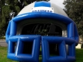 Brahmas Custom Inflatable Football Helmet