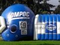 Lompoc HS Custom Inflatable Football Helmet