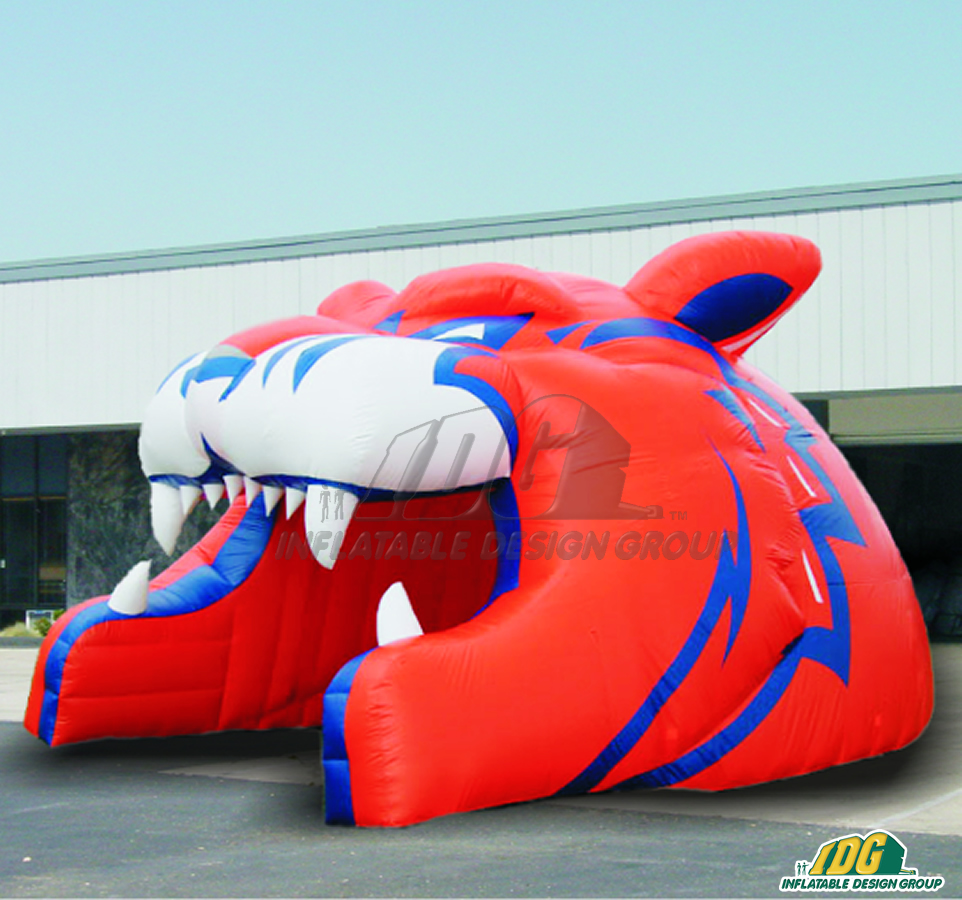 Bridgeport Sound Tigers Custom Inflatable Entryway
