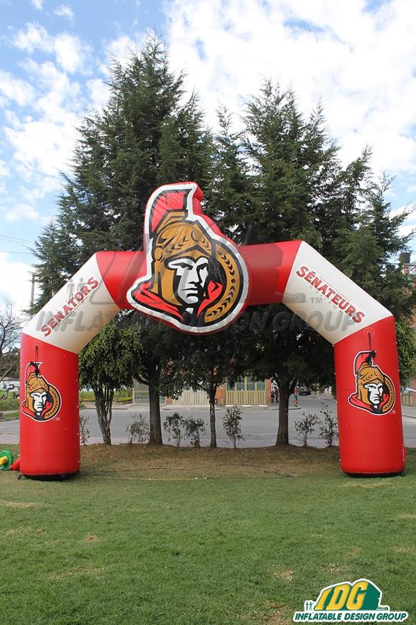Ottawa Senators Custom Inflatable Arch