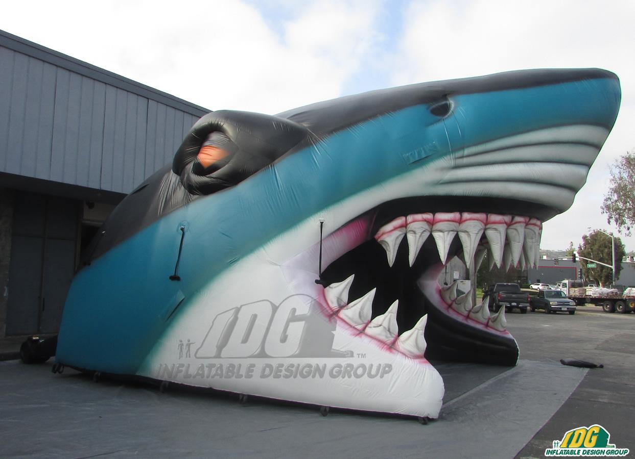 San Jose Sharks Custom Inflatable Entryway